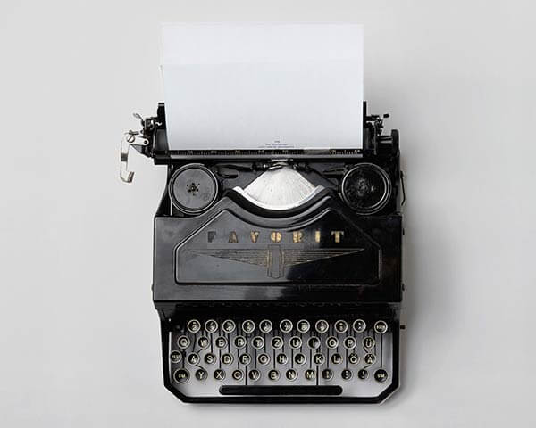 Pressebereich Die Bewerbungsschreiber - Schreibmaschine zu veröffentlichten Pressemitteilungen