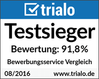 Bewerbungsservice Test 2016