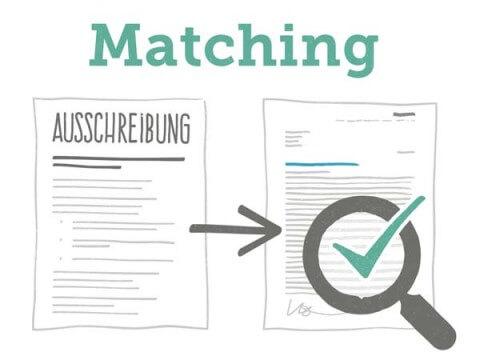 Matching im Bewerbungsschreiben Hard Facts & Soft Skills