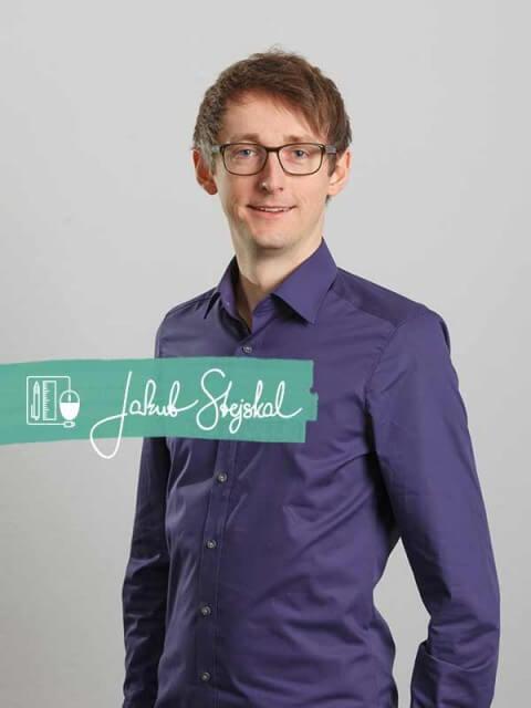 Bewerbungsdesigner Jakub Steijskal