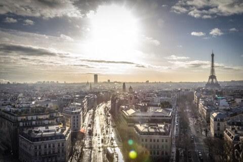 In Frankreich bewerben - Blick über Frankreich