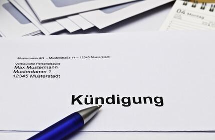 Kündigungsschreiben