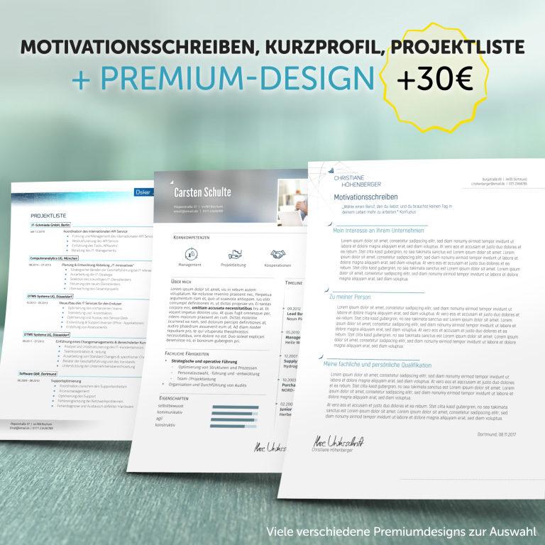 Unsere Zusatzprodukte im Premium-Design
