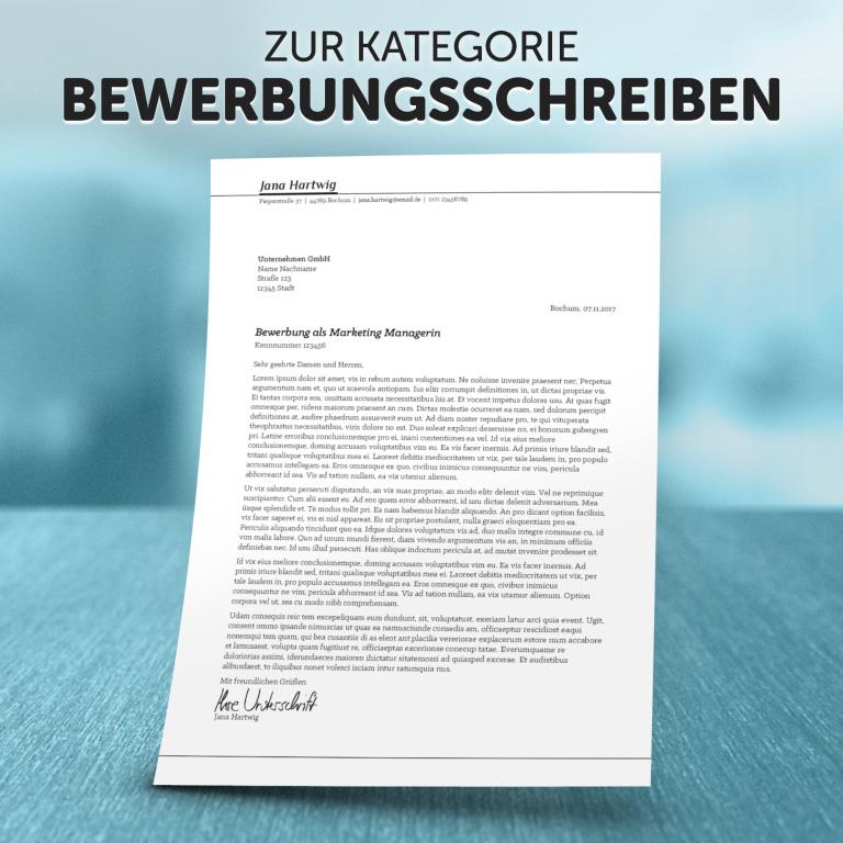 """Zur Kategorie """"Bewerbungsschreiben"""""""