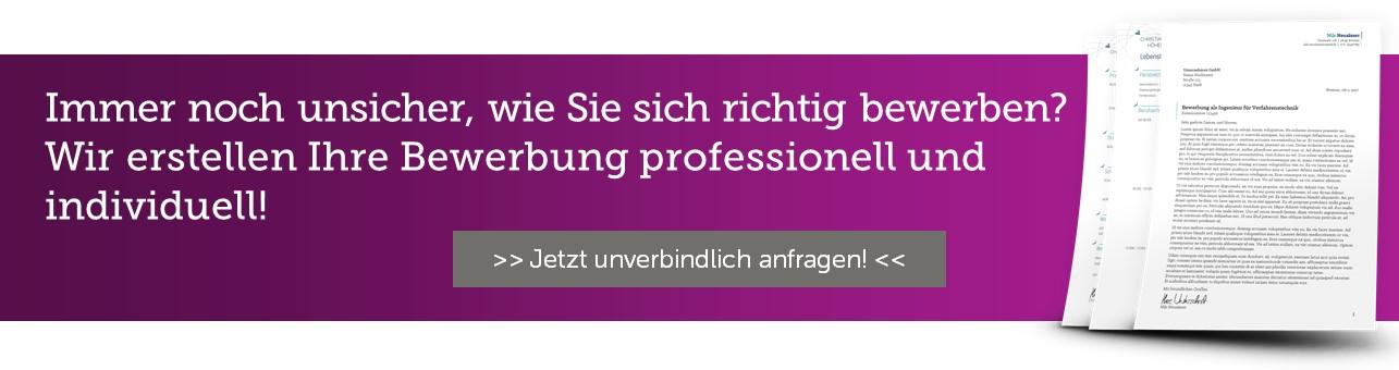 Richtig bewerben - Die Bewerbungsschreiber erstellen professionelle und individuelle Bewerbungen